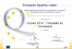 etwinning QL ULYSSE 2014