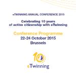 Συμμετοχή στο Πανευρωπαϊκό Συνέδριο eTwinnning του 2015 στις Βρυξέλλες