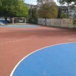 Εγκαινιασμός των ανακαινισμένων αθλητικών χώρων του σχολείου