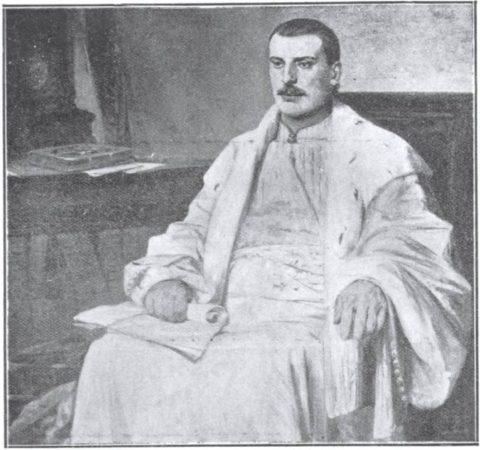 Ο εξ Ηπείρου ευεργέτης Ζωσιμάς. Πίνακας του Νικηφόρου Λύτρα